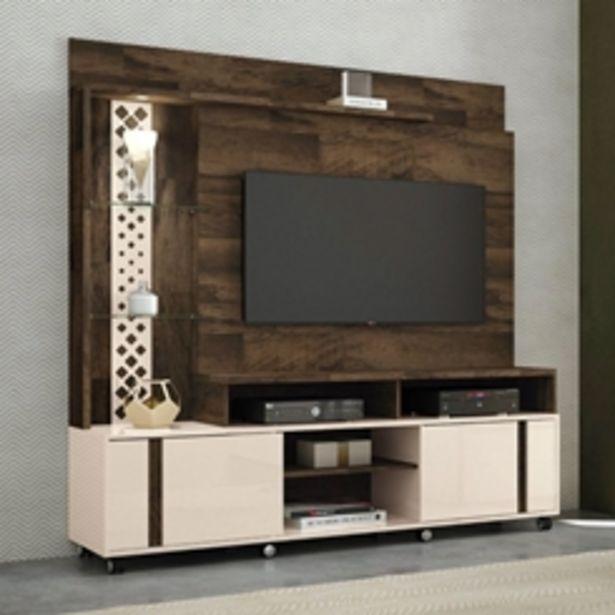 Oferta de Estante Home Theater Para Tv Até 55 Pol. Vitral Deck/off White - Hb Móveis por R$899