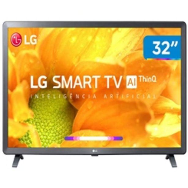 "Oferta de TV LED HD LG 32"" SMART 32LM625BPSB por R$1499"