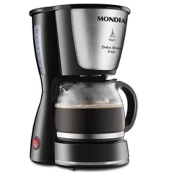 Oferta de Cafeteira Elétrica Mondial Dolce Arome 18 Xícaras C30 por R$119