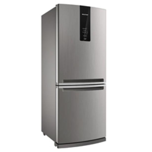Oferta de Geladeira Brastemp Frost Free Inverse 443 litros BRE57AK por R$5499