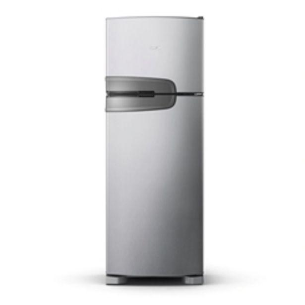 Oferta de Geladeira Consul Frost Free Duplex 340 litros Evox com Prateleiras Altura Flex CRM39AK por R$3399