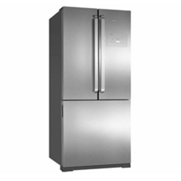 Oferta de Geladeira Brastemp Frost Free Inox - Inverse 540,6L Ative! BRO80AK por R$6999