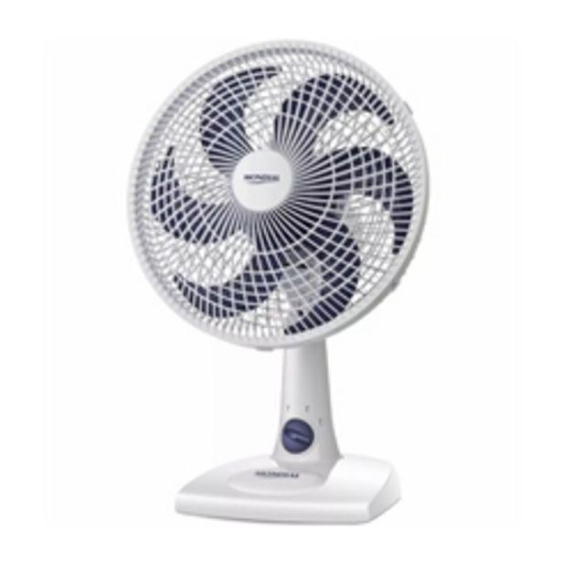 Oferta de Ventilador Mondial, 3 Velocidades, 6 Pás, 30cm, Inclinação regulável - NV15 por R$99