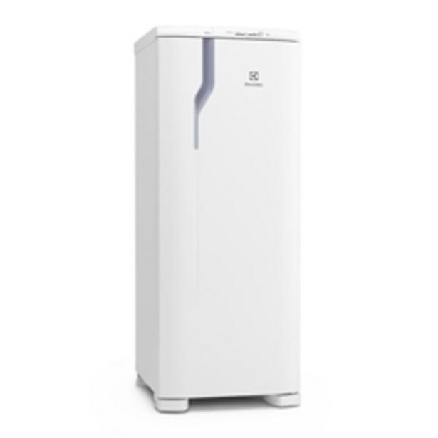 Oferta de Refrigerador Electrolux Degelo Prático RE31 com Controle de Temperatura 240L- Branco por R$1769