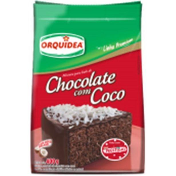 Oferta de Mistura para Bolo Orquídea Chocolate com Prestígio 400G por R$1,99