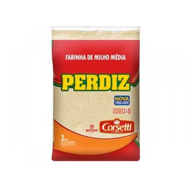 Oferta de Farinha de Milho Perdiz Média Embalagem 1Kg por R$2,99