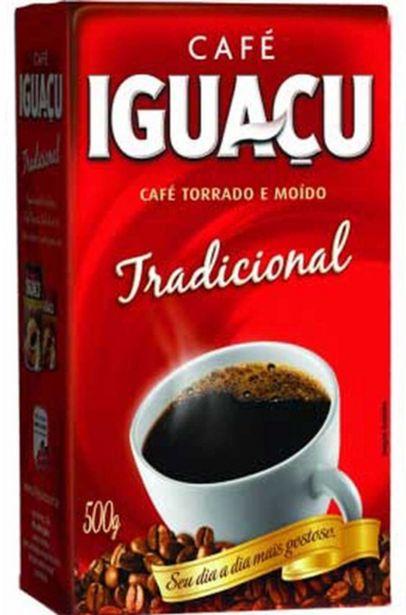 Oferta de Café em pó Iguaçu tradicional 500g por R$12,49