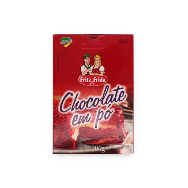Oferta de Chocolate em pó Fritz&Frida 200g por R$3,98