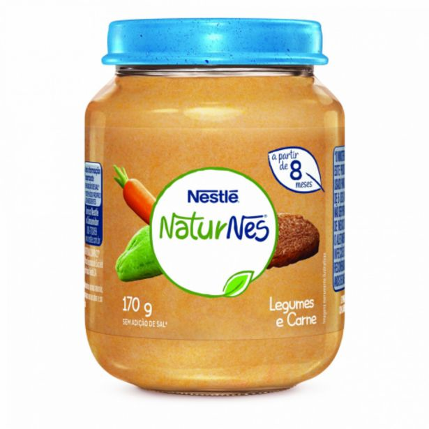 Oferta de Alimento infantil Nestlé carne e legumes 170g por R$7,99
