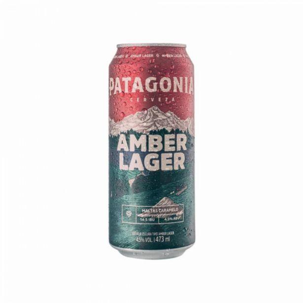 Oferta de Cerveja Patagonia amber lager 473ml por R$5,99