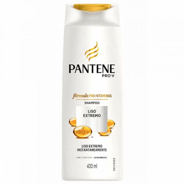 Oferta de Shampoo Pantene liso extremo 400ml por R$18,98