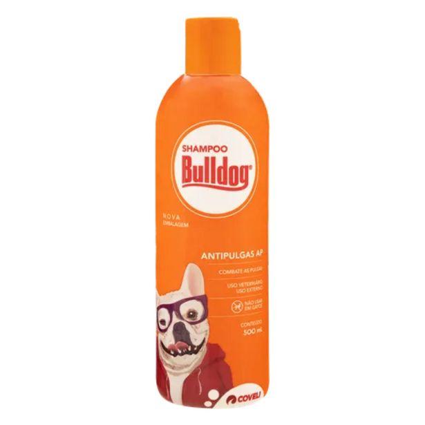 Oferta de Shampoo para cães Bulldog antipulga 500ml por R$12,98