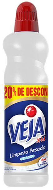 Oferta de Limpador Veja limpeza pesada cloro 500mL por R$6,98