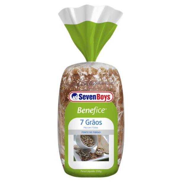 Oferta de Pão 7 grãos Seven Boys benefice 400g por R$6,79
