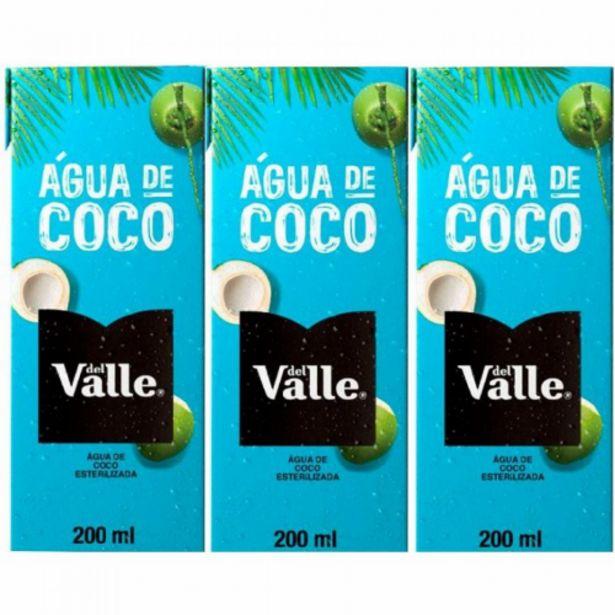 Oferta de Água de coco Del Valle 200ml por R$5,97