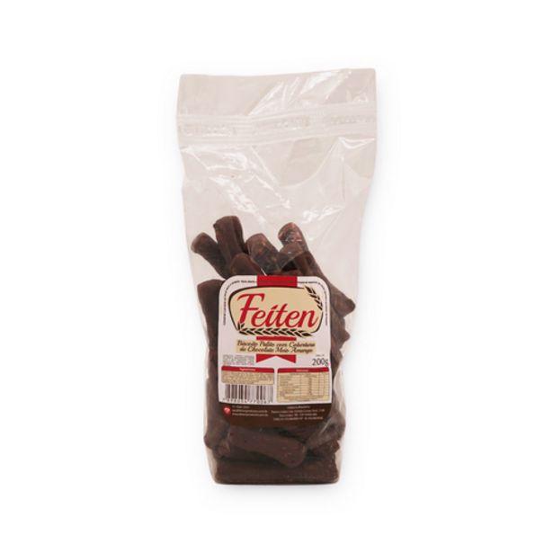 Oferta de Biscoito Feiten palito com cobertura de chocolate 200g por R$2,99