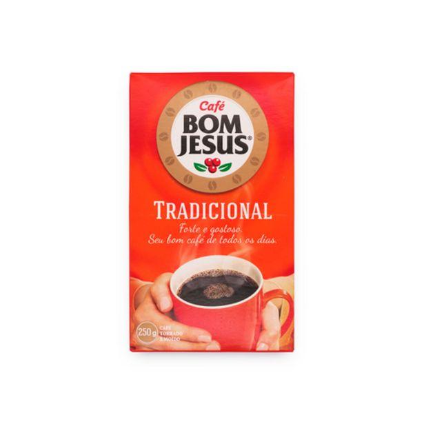 Oferta de Café em pó Bom Jesus tradicional a vácuo 250g por R$8,49
