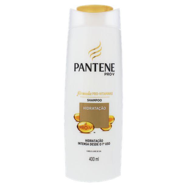 Oferta de Shampoo Pantene hidratação 400ml por R$18,98