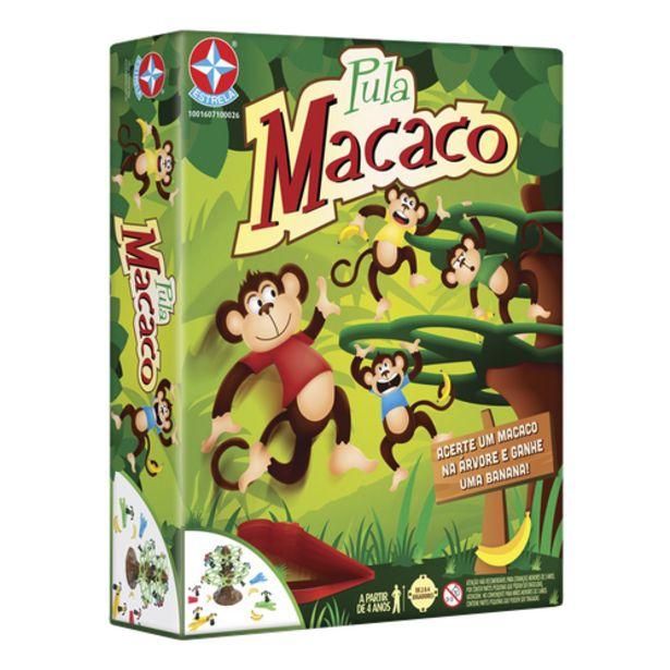 Oferta de Jogo pula macaco Estrela por R$69,9