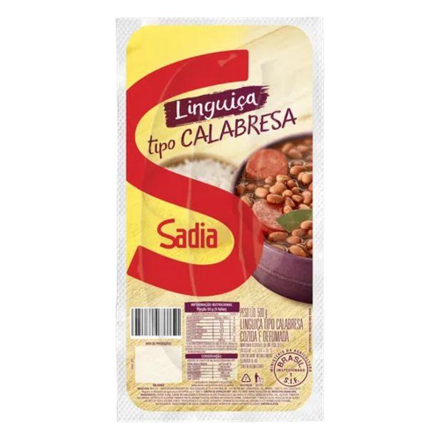 Oferta de Linguiça Sadia calabresa 500g por R$25,9