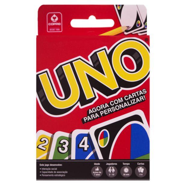 Oferta de Jogo de cartas uno Copag por R$19,9