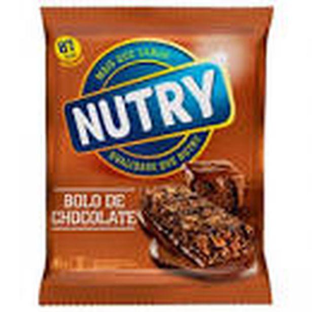 Oferta de Barra de cereal Nutry bolo de chocolate 66g por R$4,25