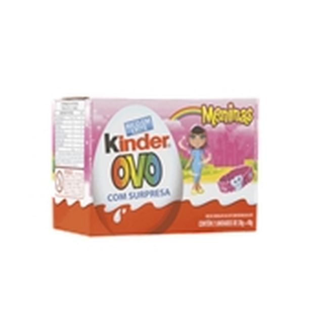 Oferta de Ovo Kinder menina 40g por R$11,98