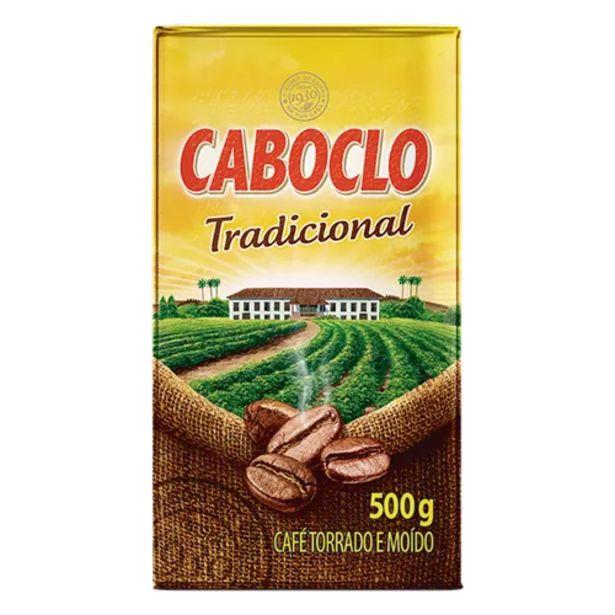 Oferta de Café em pó Caboclo tradicional a vácuo 500g por R$13,79
