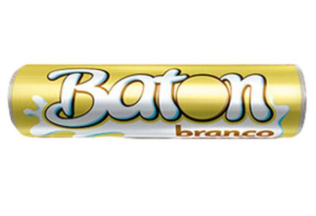 Oferta de Chocolate Branco Garoto Baton 16g por R$1,19