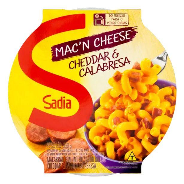Oferta de Mac'n cheese Sadia cheddar e calabresa 350g por R$7,99
