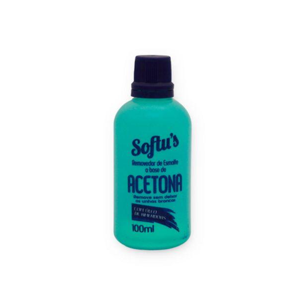 Oferta de Removedor de esmalte Softus acetona 100ml por R$3,98