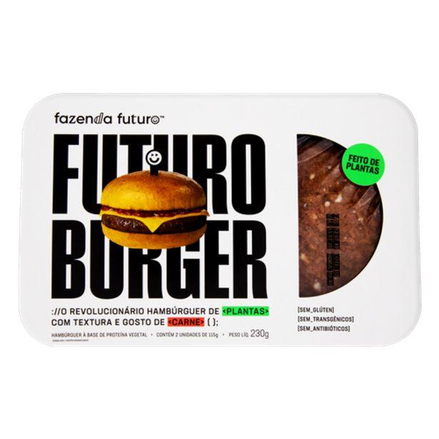 Oferta de Hambúrguer vegano Fazenda Futuro 230g por R$17,9