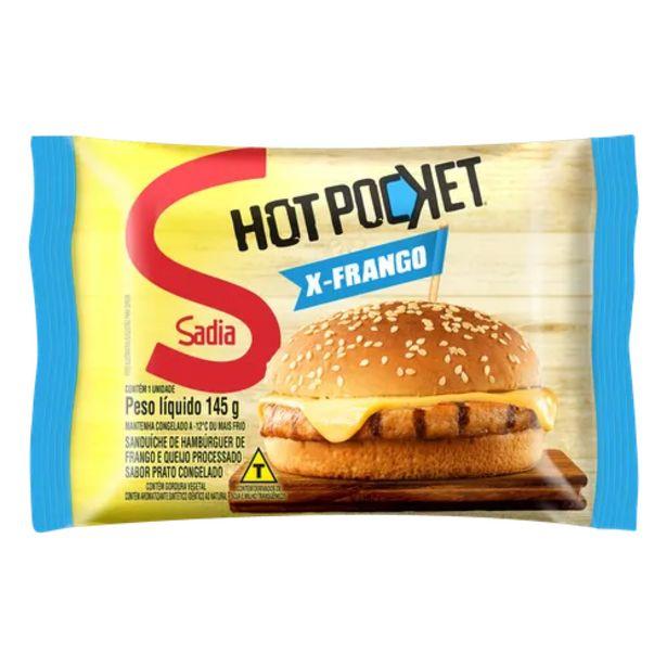Oferta de Hot pocket Sadia x frango 145g por R$6,49