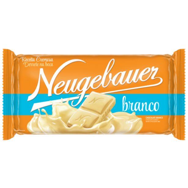 Oferta de Chocolate Neugebauer branco 90g por R$5,29
