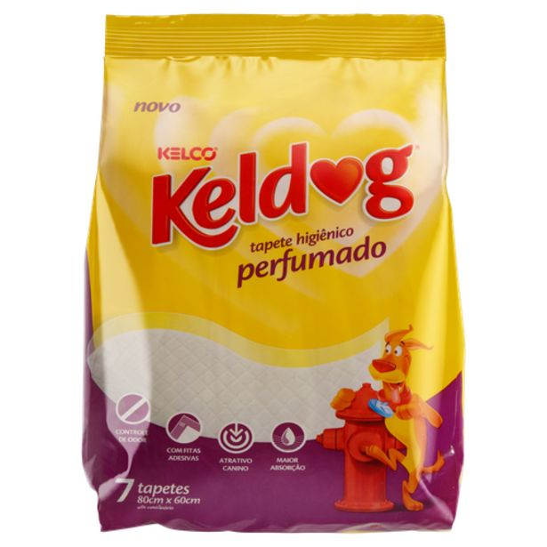 Oferta de Tapete Keldog perfumado M por R$34,98