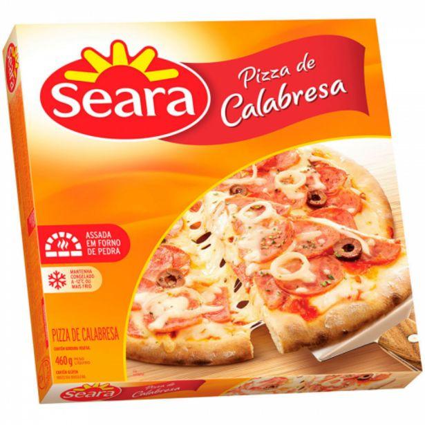 Oferta de Pizza Seara calabresa 460g por R$8,99