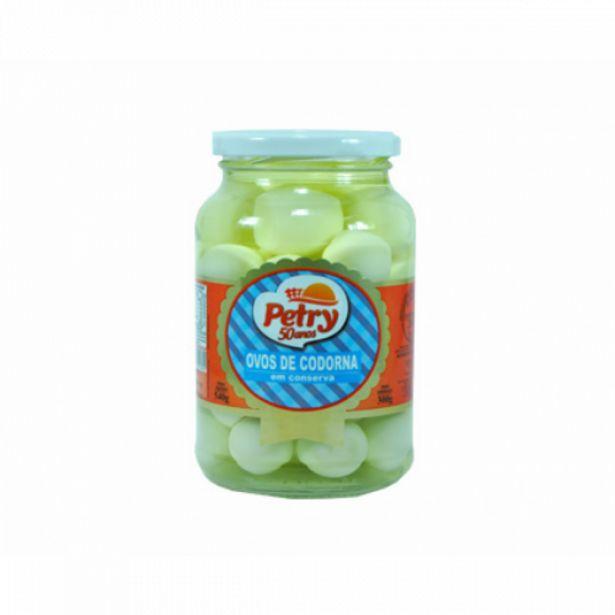 Oferta de Ovos de codorna Petry 300g por R$18,98