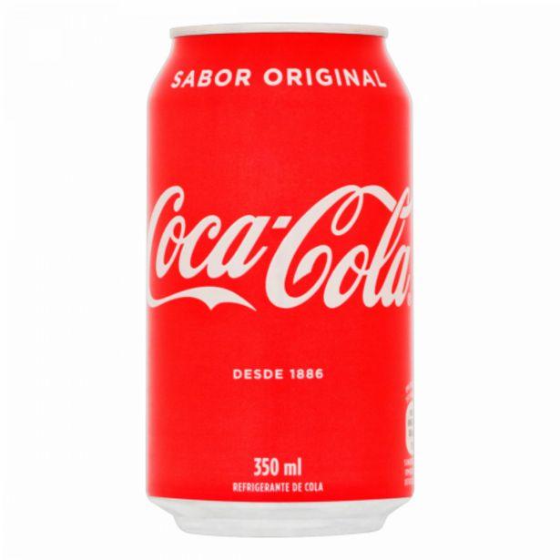 Oferta de Refrigerante Coca-Cola 350ml por R$2,99
