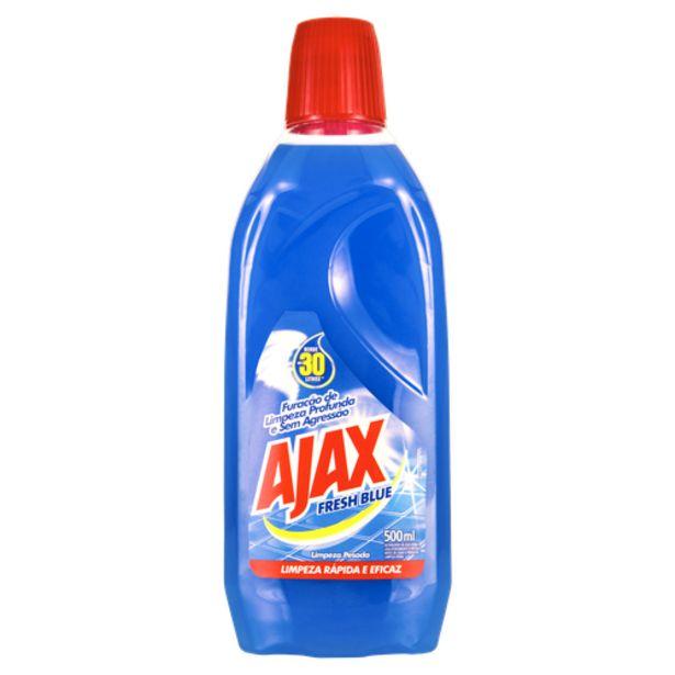 Oferta de Limpador Ajax fresh blue 500mL por R$8,98