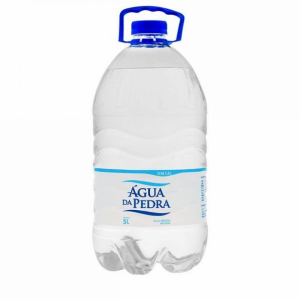 Oferta de Água mineral Água Da Pedra 5L por R$6,49