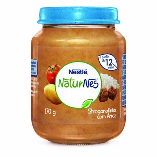 Oferta de Alimento infantil Nestlé strogonoff e arroz 170g por R$7,99