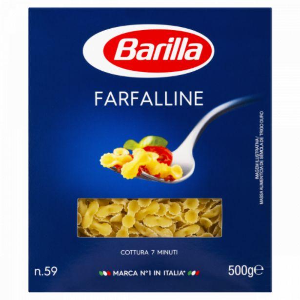 Oferta de Massa Barilla farfalle 500g por R$9,39