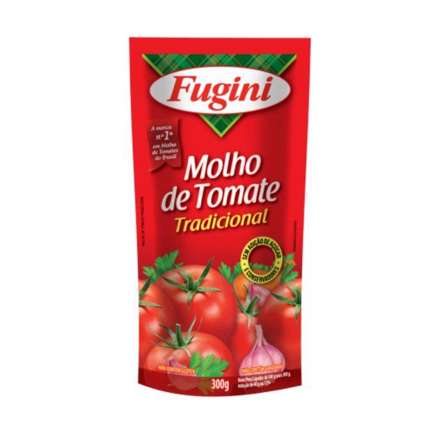Oferta de Molho de tomate Fugini tradicional 300g por R$1,79