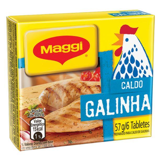 Oferta de Caldo de galinha Maggi 57g por R$2,29