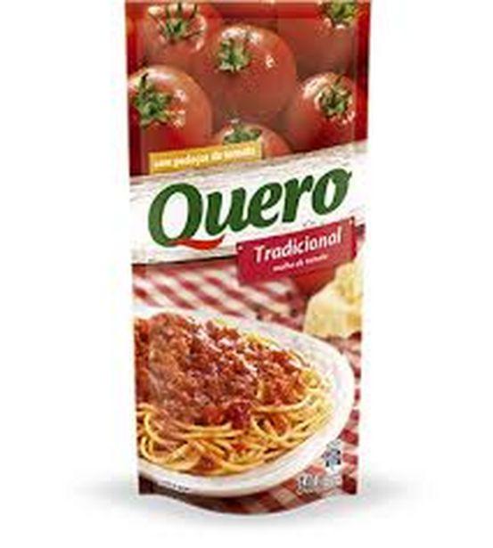 Oferta de Molho de tomate Quero tradicional 340g por R$1,99