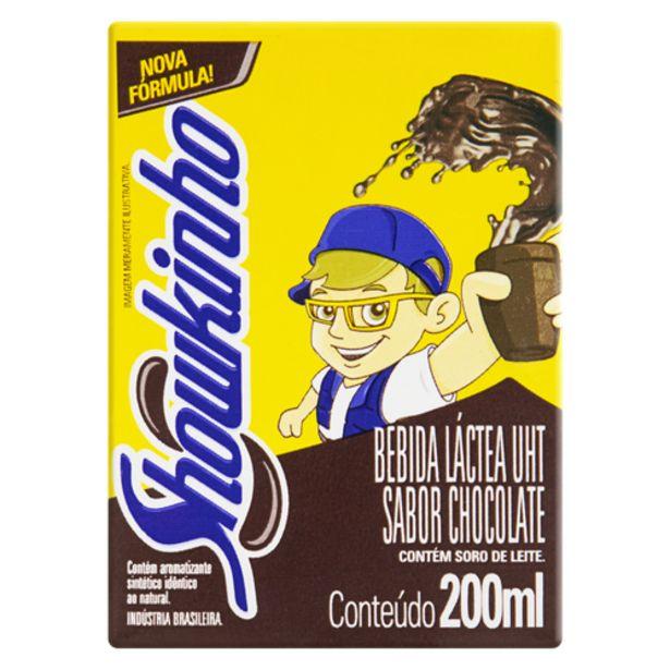 Oferta de Achocolatado líquido Showkinho 200ml por R$0,87