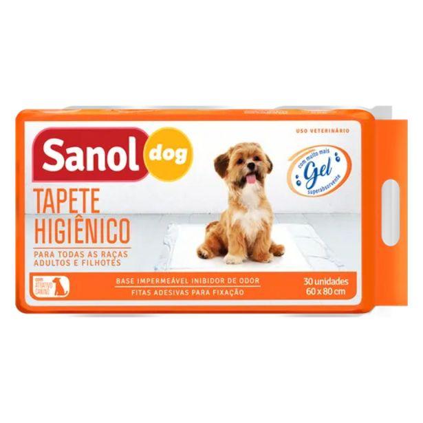 Oferta de Tapete higiênico Sanol perfumado por R$98,9