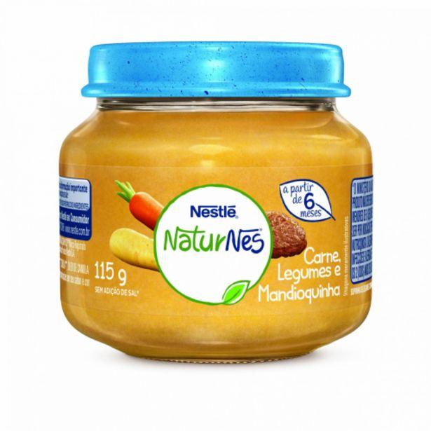 Oferta de Alimento infantil Nestlé carne legumes e mandioca 115g/120g por R$5,49