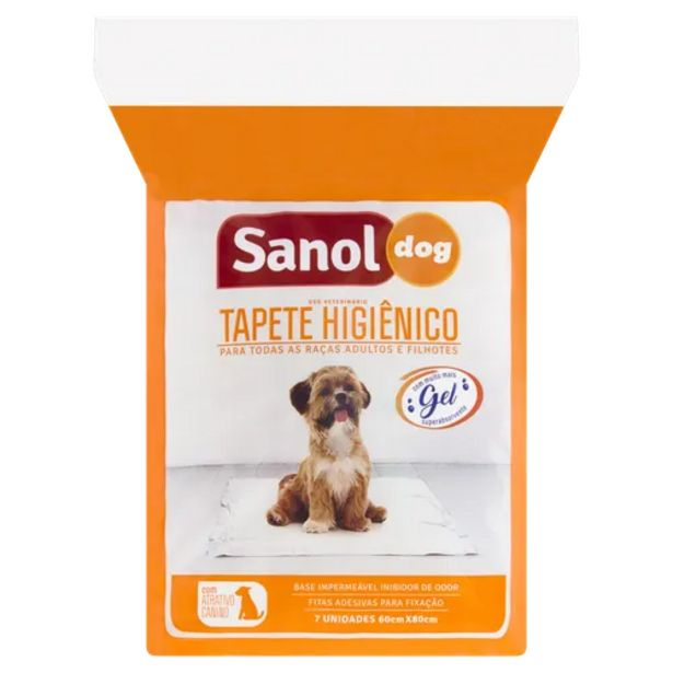 Oferta de Tapete higiênico Sanol perfumado por R$29,9