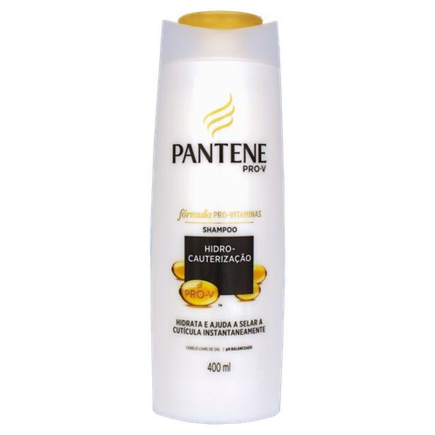 Oferta de Shampoo Pantene Hidrocauterização 400ml por R$18,98